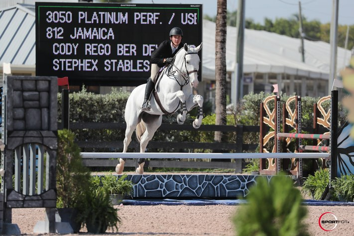 Rego Competes in Wellington Regional WEF Series (Equestrian Events)
