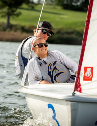 Cooper Wins St. Mary's College Spring Fling (Sailing)