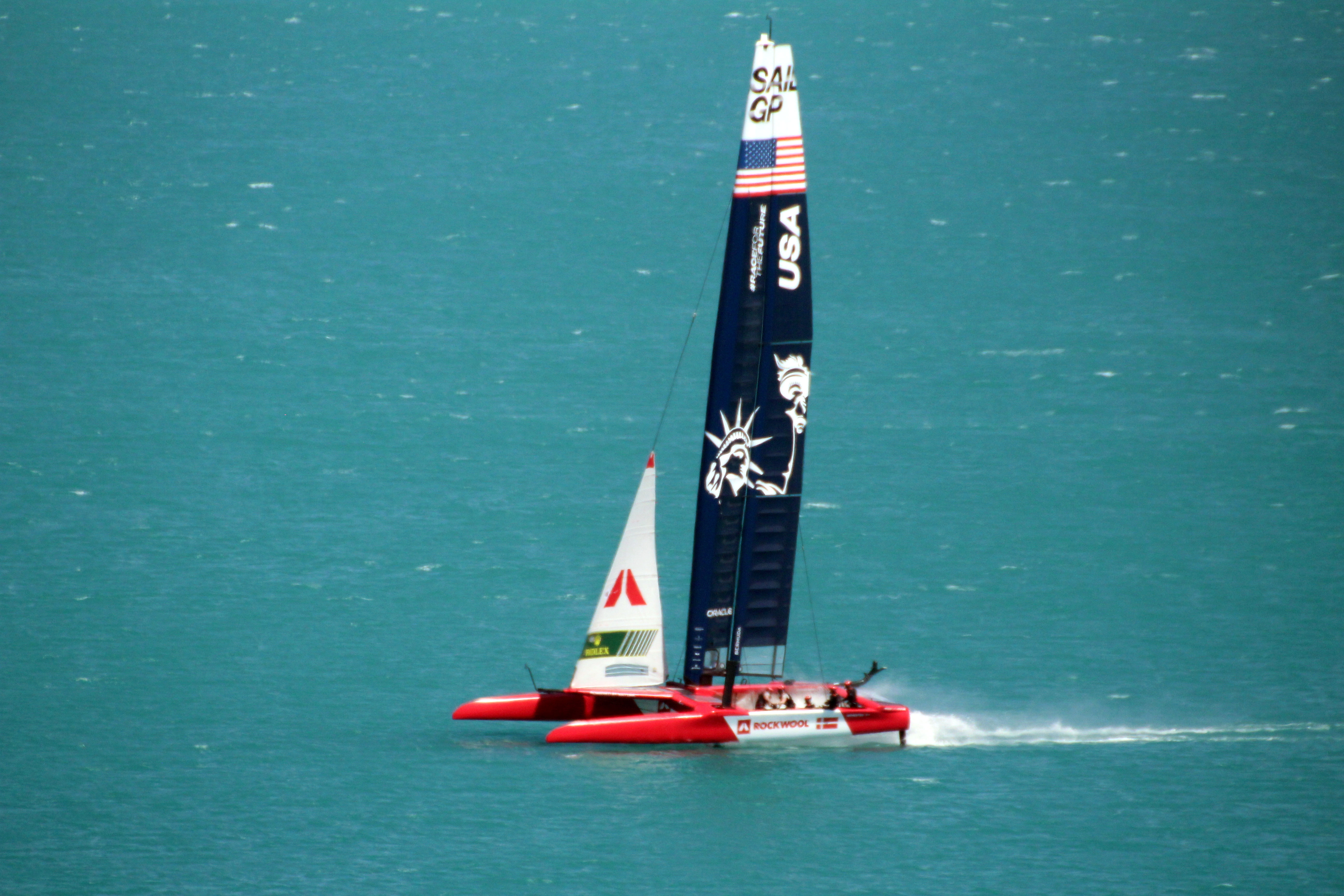 SailGP are Advertising On-water Spectator Experience (Sailing)