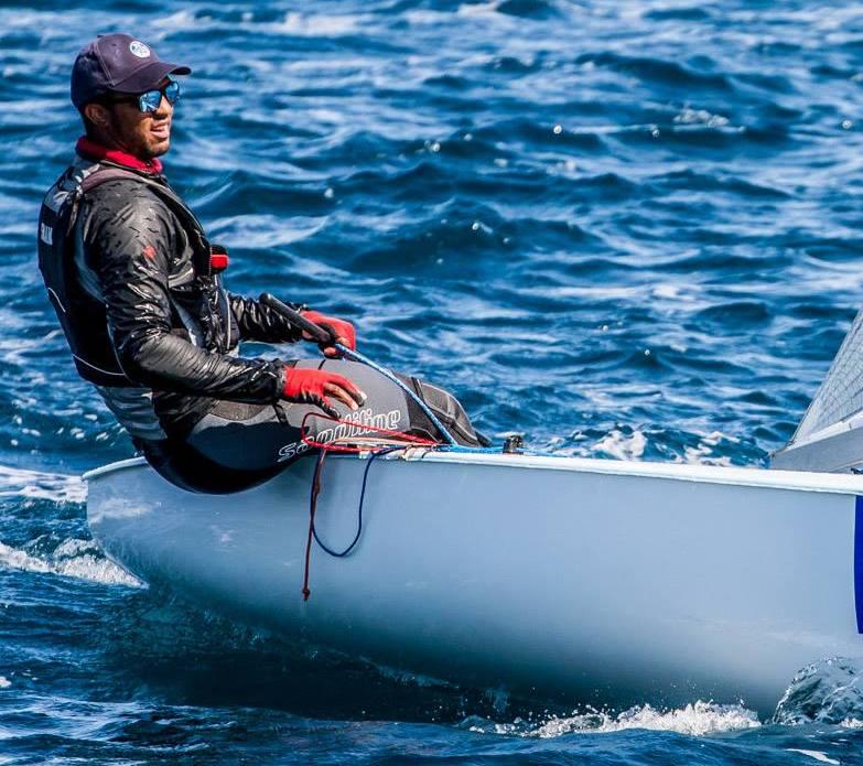 Evans Begins Competing in Finn Class Regatta in Australia (Sailing)