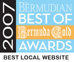 IslandStats.com Wins The Bermudian's Best Local Site Award for 2007